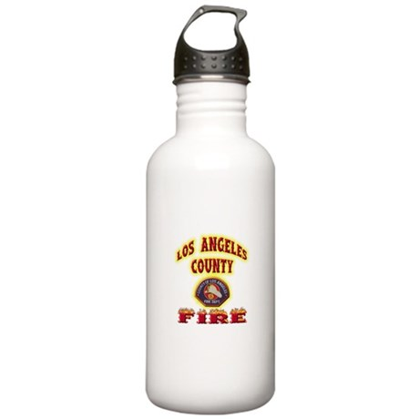 Los Angeles County Fire Stainless Water Bottle 1.0