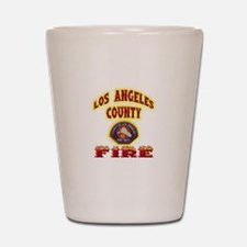 Los Angeles County Fire Shot Glass