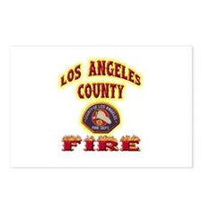 Los Angeles County Fire Postcards (Package of 8)
