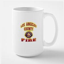 Los Angeles County Fire Large Mug