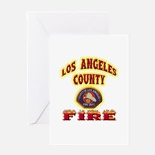 Los Angeles County Fire Greeting Card