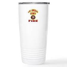 Los Angeles County Fire Travel Mug