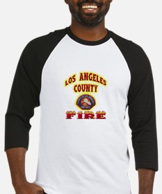 Los Angeles County Fire Baseball Jersey