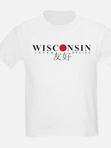 Japan Relief Wisconsin Yuukou Friendship T-Shirt
