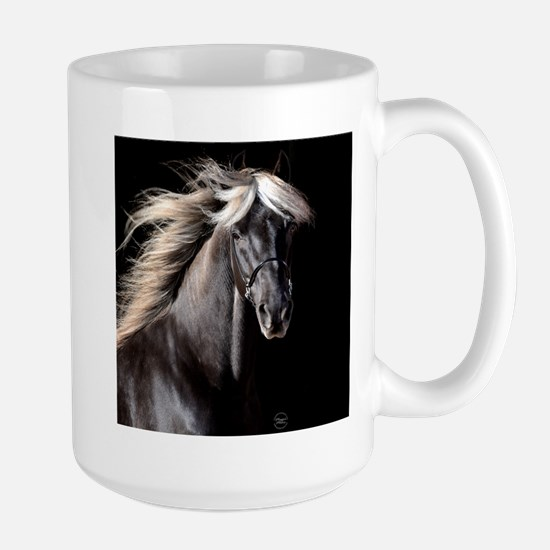 Chocolate Rocky Mtn Horse Large Mug