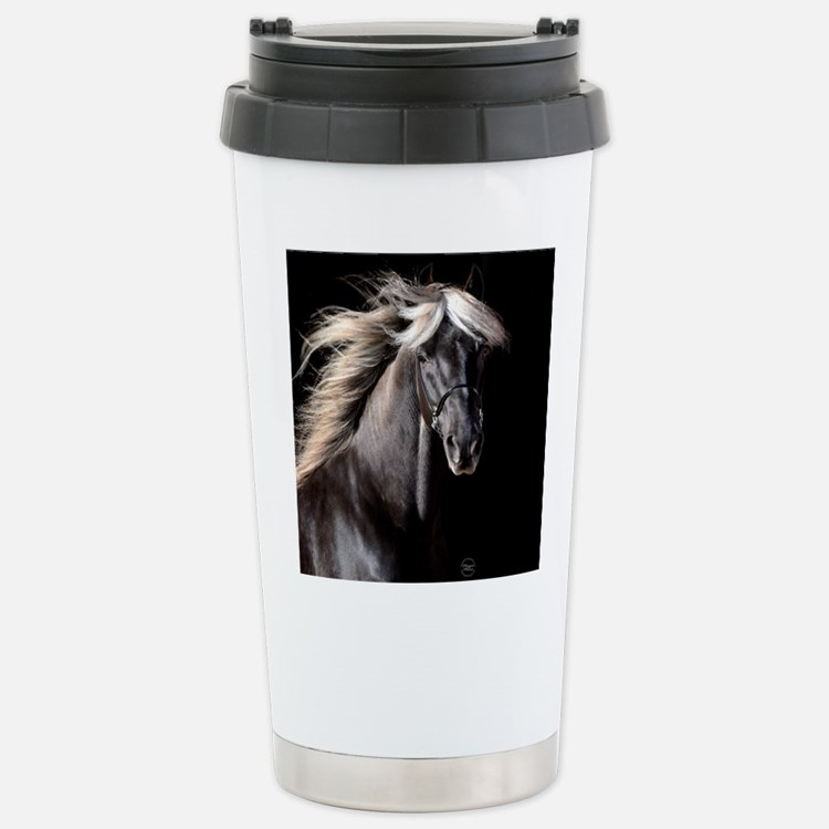 Chocolate Rocky Mtn Horse Stainless Steel Travel M