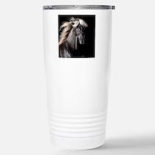 Chocolate Rocky Mtn Horse Travel Mug