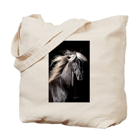 Choco Rocky Mountain Horse Tote Bag