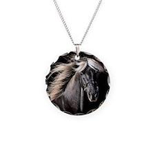 Choco Rocky Mountain Horse Necklace
