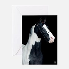 Spotted Horse Greeting Card