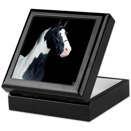 Spotted Horse Keepsake Box