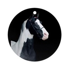 Spotted Horse Ornament (Round)