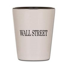 Wall Street Shot Glass