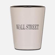 Wall Street Shot Glass
