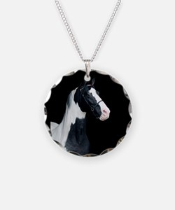 Spotted Horse Necklace