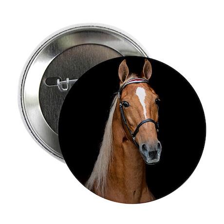"""Sorrel Horse 2.25"""" Button"""