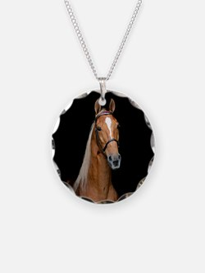 Sorrel Horse Necklace