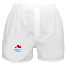 Kiss Me I'm Thai Boxer Shorts