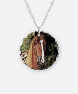 Western Horse Necklace