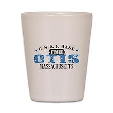 Otis Air Force Base Shot Glass
