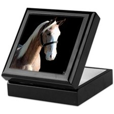 Red Roan Dun Horse Keepsake Box