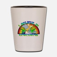 I Believe In Unicorns Shot Glass