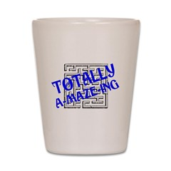 Totally A-maze-ing Shot Glass