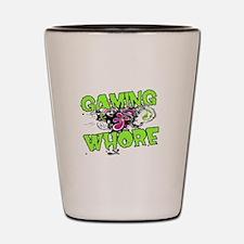 Gaming Whore Shot Glass
