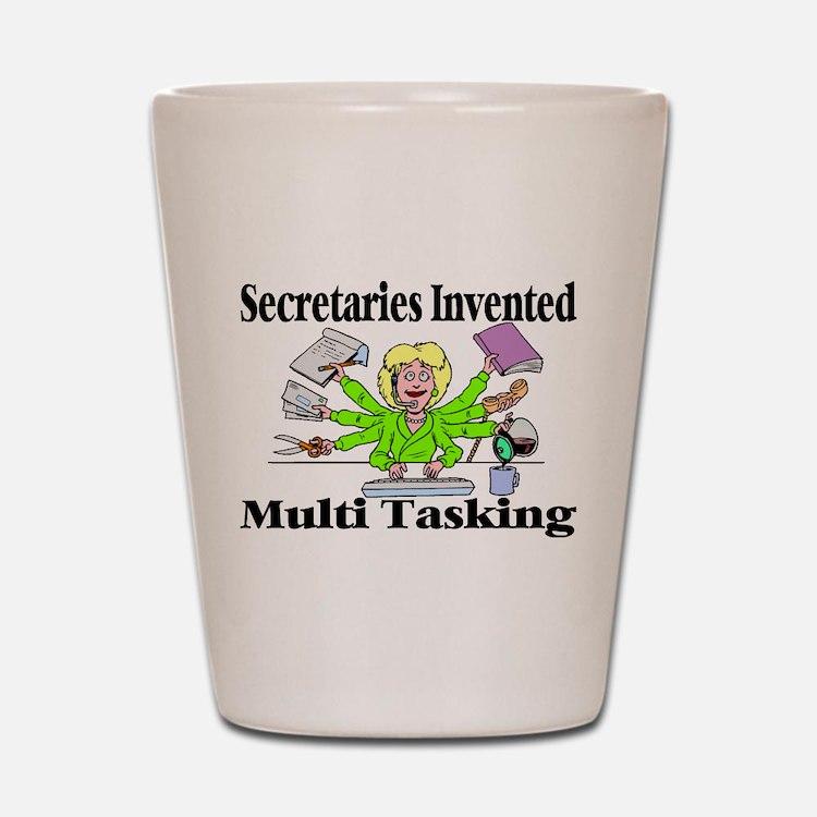 Secretaries Multi Task Shot Glass