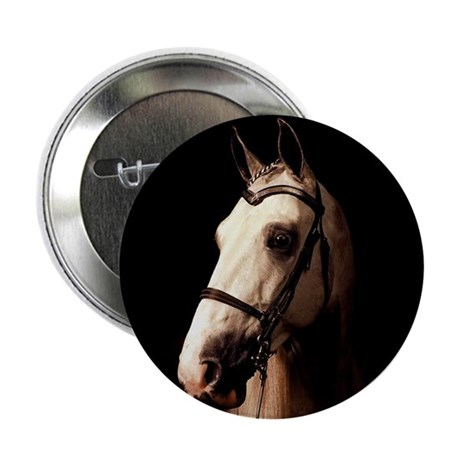 """Champagne Horse 2.25"""" Button (10 pack)"""