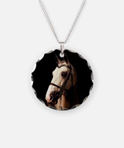Champagne Horse Necklace