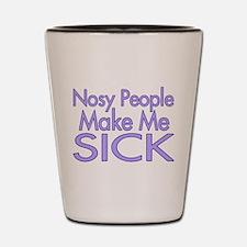 Nosy People Shot Glass