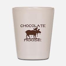 Chocolate Moose Shot Glass