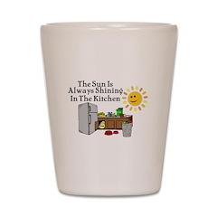 Sunny Kitchen Shot Glass