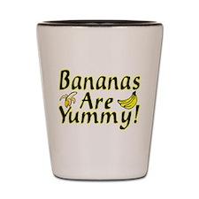 Bananas Shot Glass