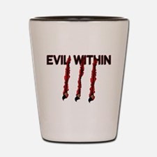 Evil Within Shot Glass