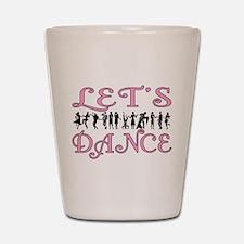Let's Dance Shot Glass