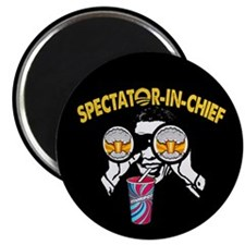 """Spectator-in-Chief 2.25"""" Magnet (10 pack)"""
