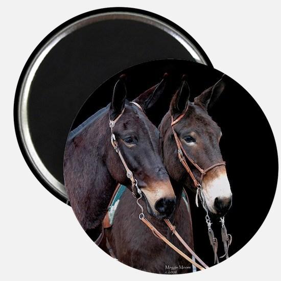 Mule Twosome Magnet