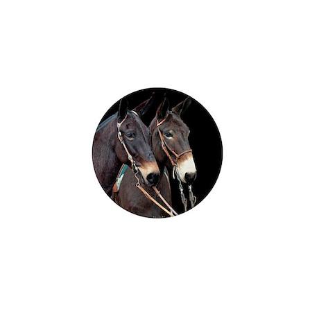 Mule Twosome Mini Button (100 pack)