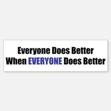 Everyone Bumper Bumper Bumper Sticker