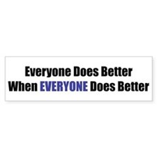 Everyone Bumper Bumper Sticker