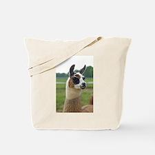 Spotted Llama Tote Bag