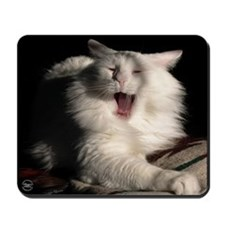 Tired Cat Mousepad