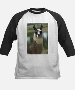 Brown and White Llama Tee