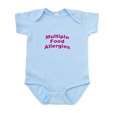 Multiple Food Allergies Infant Bodysuit