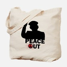 Peace Out Libya Tote Bag