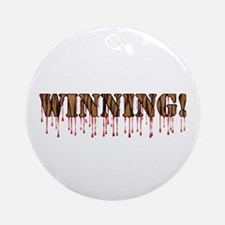 Winning! Ornament (Round)