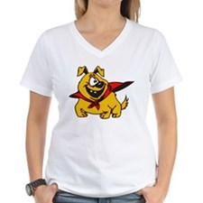 Super Puppy Cartoon Dog Shirt