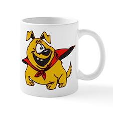 Super Puppy Cartoon Dog Mug